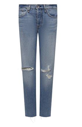 Женские джинсы RAG&BONE голубого цвета, арт. WDD21S2769B1HH | Фото 1