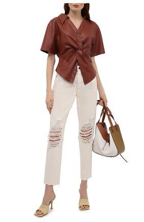 Женские джинсы RAG&BONE кремвого цвета, арт. WDD21S2769X7EH | Фото 2