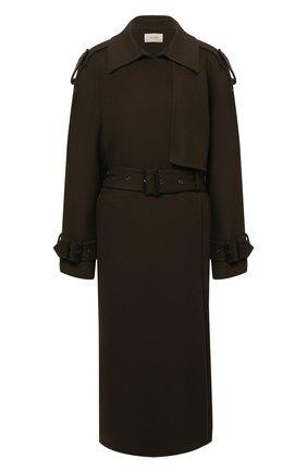 Женское кашемировое пальто THE ROW коричневого цвета, арт. 5428W1959   Фото 1