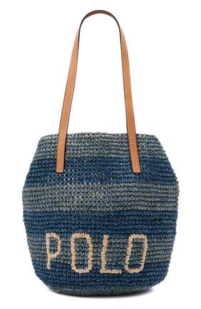 Женская сумка POLO RALPH LAUREN синего цвета, арт. 428834937   Фото 1