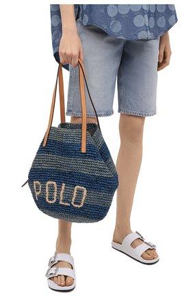 Женская сумка POLO RALPH LAUREN синего цвета, арт. 428834937   Фото 2