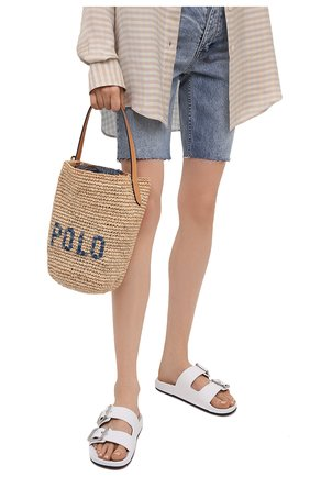 Женская сумка POLO RALPH LAUREN бежевого цвета, арт. 428798023   Фото 2