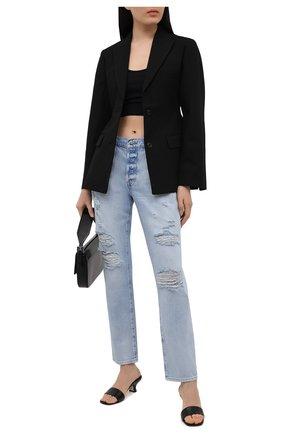 Женские джинсы FRAME DENIM голубого цвета, арт. LSLJ207/A   Фото 2