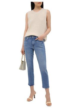 Женские джинсы FRAME DENIM синего цвета, арт. LPXSY118   Фото 2