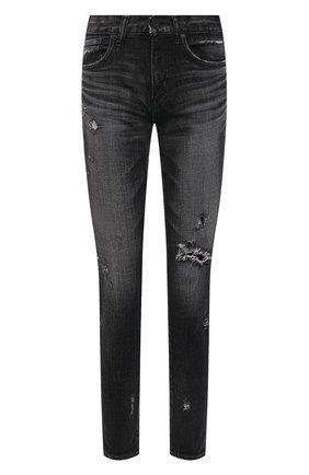 Женские джинсы MOUSSY темно-серого цвета, арт. 025ESC12-2570 | Фото 1