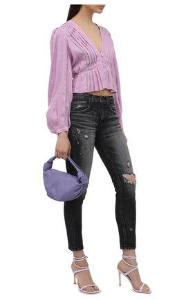 Женские джинсы MOUSSY темно-серого цвета, арт. 025ESC12-2570 | Фото 2