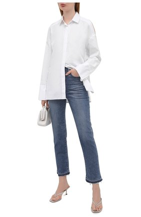 Женские джинсы MOUSSY синего цвета, арт. 025ESC12-1200 | Фото 2