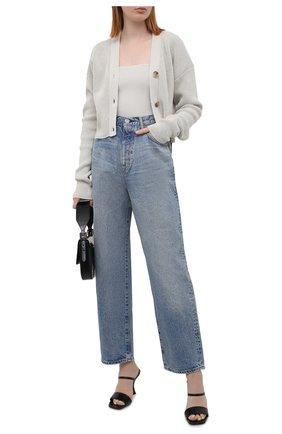 Женские джинсы MOUSSY голубого цвета, арт. 025ESC11-2640 | Фото 2