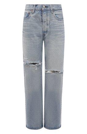 Женские джинсы MOUSSY голубого цвета, арт. 025ESC11-2630 | Фото 1