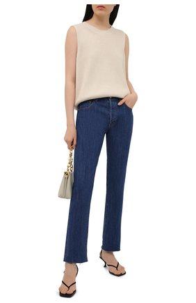 Женские джинсы MOUSSY синего цвета, арт. 025ESC11-2610 | Фото 2