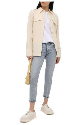 Женские джинсы MOUSSY голубого цвета, арт. 025ESC11-2340 | Фото 2