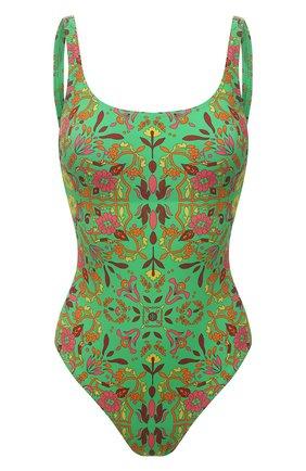 Женский слитный купальник TORY BURCH разноцветного цвета, арт. 56981 | Фото 1
