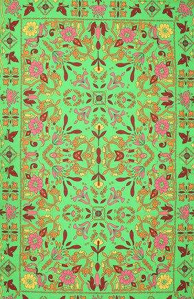 Женское парео из хлопка и шелка TORY BURCH разноцветного цвета, арт. 83456 | Фото 2