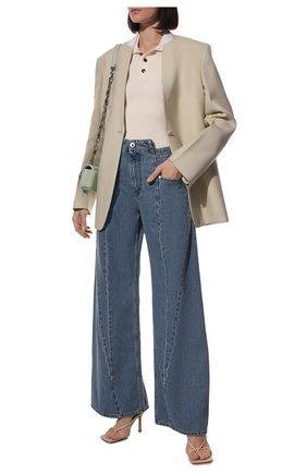 Женские джинсы MAISON MARGIELA синего цвета, арт. S51LA0065/S30513   Фото 2