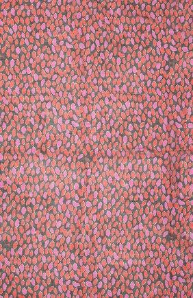 Женский шерстяной платок SAINT LAURENT фуксия цвета, арт. 659753/3Y200 | Фото 2