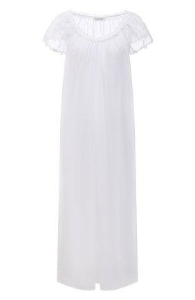 Женская хлопковая сорочка EVA B.BITZER белого цвета, арт. 11313672   Фото 1
