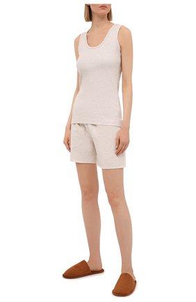 Женские шорты EVA B.BITZER бежевого цвета, арт. 11322945   Фото 2