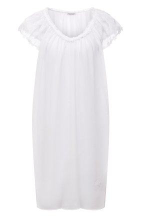 Женская хлопковая сорочка EVA B.BITZER белого цвета, арт. 11313667   Фото 1