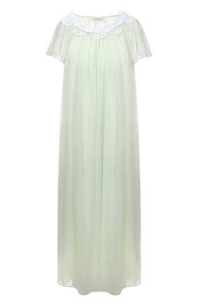 Женская хлопковая сорочка EVA B.BITZER светло-зеленого цвета, арт. 11313772   Фото 1