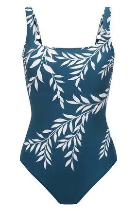 Женский слитный купальник GOTTEX бирюзового цвета, арт. 21PO173 | Фото 1