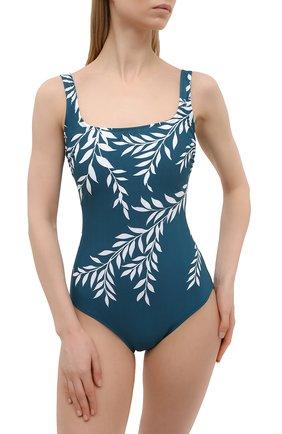 Женский слитный купальник GOTTEX бирюзового цвета, арт. 21PO173 | Фото 2
