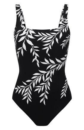 Женский слитный купальник GOTTEX черного цвета, арт. 21PO173   Фото 1