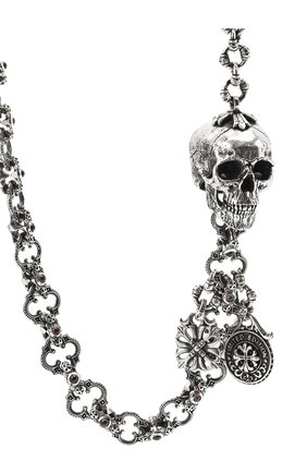 Женская брючная цепь готика GL JEWELRY серебряного цвета, арт. M610002-S97-305 | Фото 2