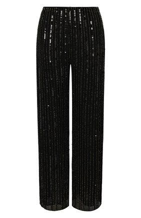 Женские брюки из вискозы JENNY PACKHAM черного цвета, арт. GGP102   Фото 1