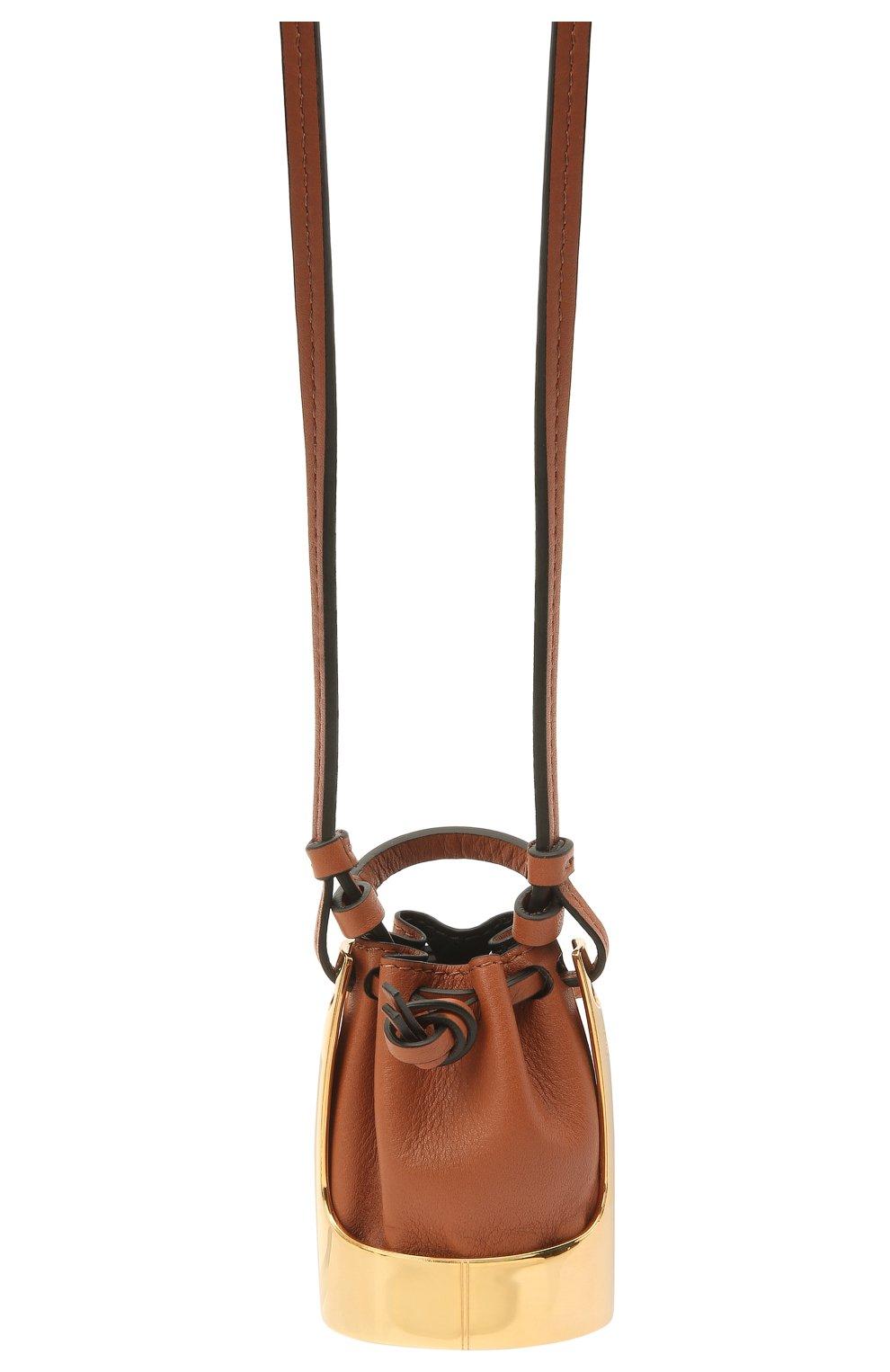 Женская кулон на шнурке balloon LOEWE коричневого цвета, арт. J710E19X01   Фото 2