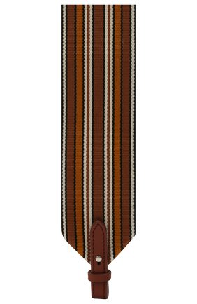 Женские ремень для сумки LORO PIANA коричневого цвета, арт. FAL7069   Фото 2