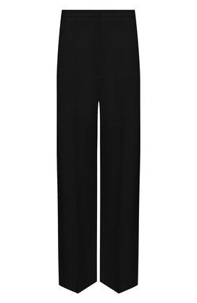 Женские брюки из вискозы TOTÊME черного цвета, арт. 212-253-709   Фото 1