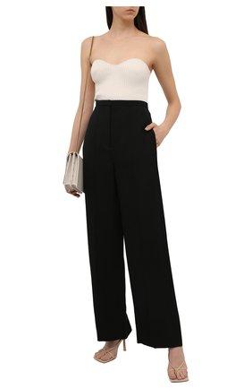 Женские брюки из вискозы TOTÊME черного цвета, арт. 212-253-709   Фото 2