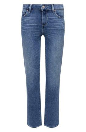 Женские джинсы PAIGE синего цвета, арт. 6804E77-4717 | Фото 1