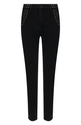Женские джинсы PAIGE черного цвета, арт. 6603F60-7051 | Фото 1