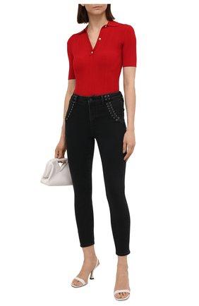 Женские джинсы PAIGE черного цвета, арт. 6603F60-7051 | Фото 2
