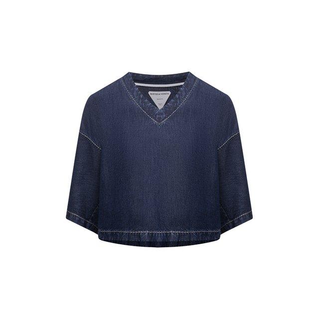 Джинсовая блузка Bottega Veneta