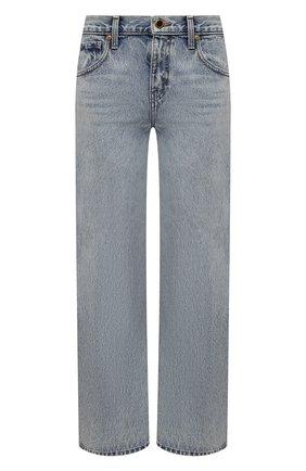 Женские джинсы KHAITE голубого цвета, арт. 1047-050/KERRIE | Фото 1