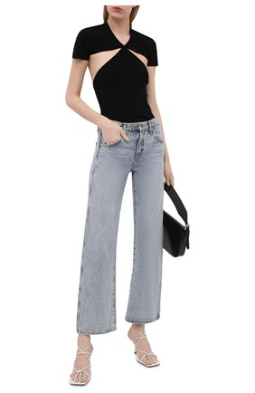 Женские джинсы KHAITE голубого цвета, арт. 1047-050/KERRIE | Фото 2