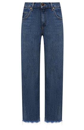 Женские джинсы KHAITE синего цвета, арт. 1047-058/KERRIE | Фото 1