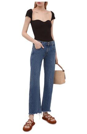 Женские джинсы KHAITE синего цвета, арт. 1047-058/KERRIE | Фото 2