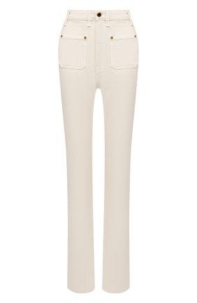 Женские джинсы KHAITE кремвого цвета, арт. 1062-051/ISABELLA | Фото 1