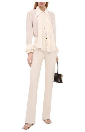 Женские джинсы KHAITE кремвого цвета, арт. 1062-051/ISABELLA | Фото 2