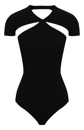 Женское боди KHAITE черного цвета, арт. 8570400/VITA | Фото 1
