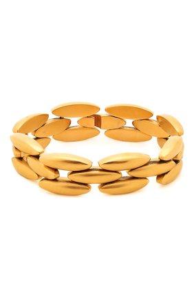 Женский браслет SAINT LAURENT золотого цвета, арт. 646239/Y1500 | Фото 1
