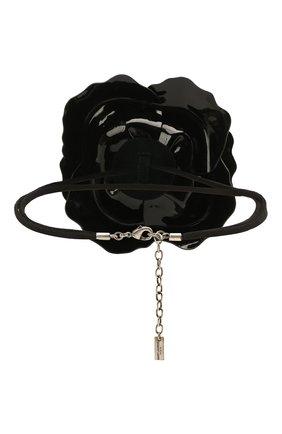 Женское чокер SAINT LAURENT черного цвета, арт. 658461/3YG99 | Фото 2