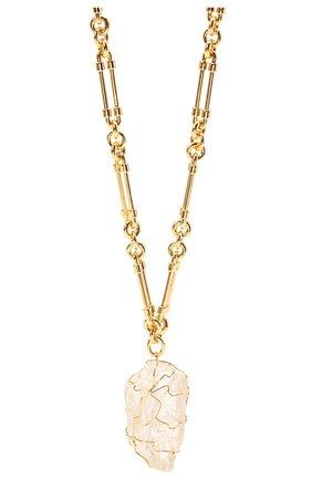 Женское колье SAINT LAURENT золотого цвета, арт. 661016/Y1505 | Фото 2