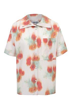 Женская рубашка KENZO разноцветного цвета, арт. FB52CH0409S4   Фото 1