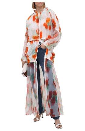 Женская куртка KENZO разноцветного цвета, арт. FB52W0U219G3   Фото 2