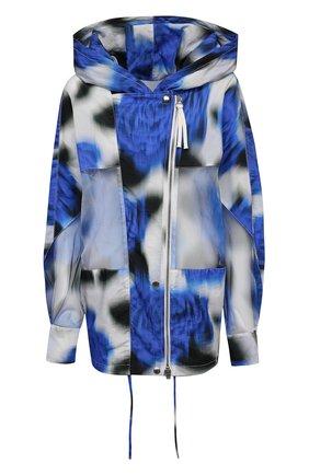 Женская куртка KENZO синего цвета, арт. FB52WBL209G1   Фото 1