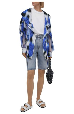 Женская куртка KENZO синего цвета, арт. FB52WBL209G1   Фото 2